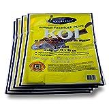 Aqua Clean Koi Tücher (12 Stück, 45x33cm) - Mikrofaser Fenstertuch Poliertuch, Reinigen Trocknen Polieren