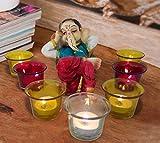 TiedRibbons® Ganesh Idol with Tealigh...