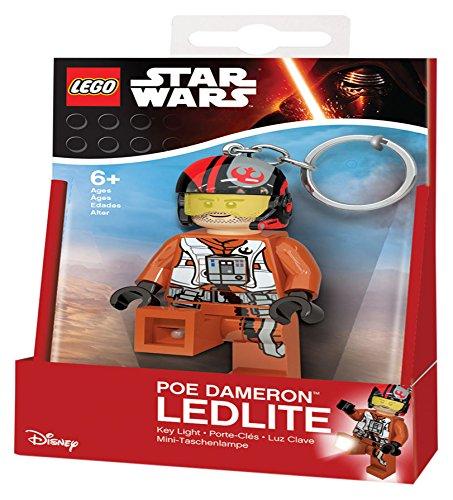 LEGO Star Wars-Poe Dameron Key Light (United Labels iberischen 813292l) (Star Wars Party Supplies Lego)