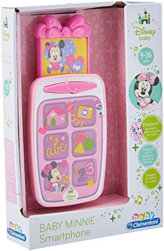 Mickey Mouse–Smartphone Erziehung Mickey, interaktive spielzeug (Clementoni 65506.9) Design: Disneys Minni Maus Rosa