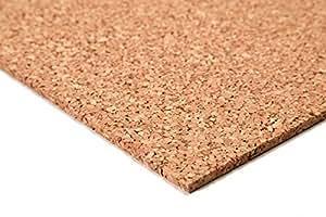 acerto 30022 panneau de liège de mur 500x 1000x 5 mm