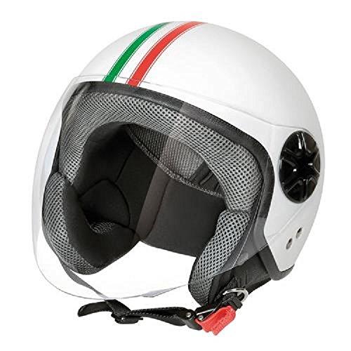 LAMPA 90719 Casco Moto Demi-Jet, Italia, Taglia M