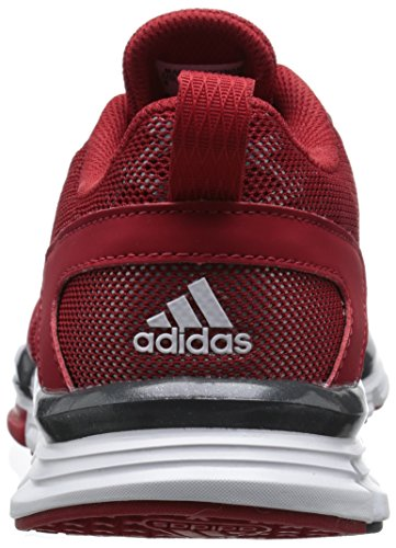 adidas Performance Men's Speed Trainer 2 Training Shoe, Power Red/White/Tech Grey/Metallic, 12.5 M US Power Red / White / Tech Grey / Metallic