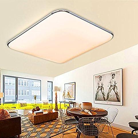 ETiME® Ultraslim LED Deckenleuchte 12W Deckenlampe Modern ...