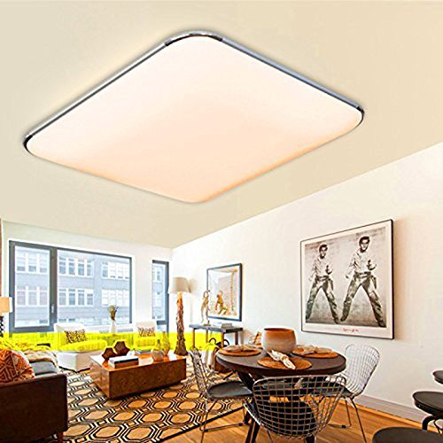 Licht & Beleuchtung Moderne Led-deckenleuchte Leuchte Lampe Oberfläche Montieren Wohnzimmer Schlafzimmer Bad Fernbedienung Hause Dekoration Küche Farben Sind AuffäLlig
