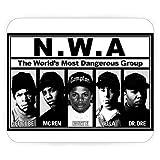 Tapis de Souris NWA Dr Dre Rap Hip Hop Straight Outta Compton Ice Cube
