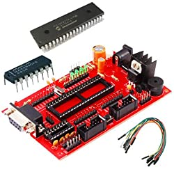 Rdl PIC Project Board With PIC16F877A IC RS232 Serial Port Power Supply 5v,12v,GND
