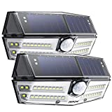 Mpow Premium 40 LED Solar Lights, Outdoor Motion Sensor Lights with High-efficient Solar Panel, 270� Super Wide Illumination Angle, Easy to Install, For Front Door, Yard, Garage, Fence, Pack of 2