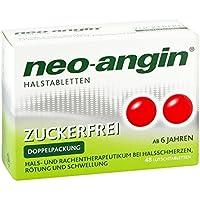 Neo-angin zuckerfrei Halstabletten Lutschtabletten, 48 St. preisvergleich bei billige-tabletten.eu