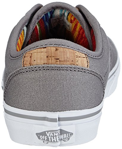 Vans Y Atwood Deluxe, Baskets Basses Mixte Enfant Gris ((10oz Canvas) Fros