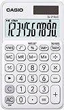 Casio SL 310UC WE Calculatrice de poche Blanc