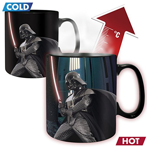 Star Wars Darth Vader - Tasse mit Thermoeffekt Keramik-Becher Standard (Star Wars Darth Vader Becher)