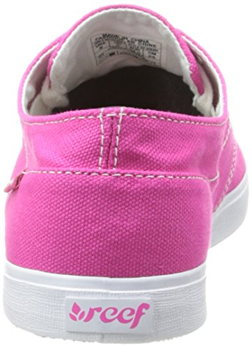 Reef Girls Deckhand 2 Damen Sneaker Pink - Rose (Hot Pink)