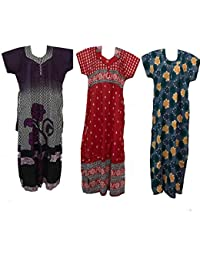 Women's Nighty Combo | Nightgown | Maxi Dress Comfortable Wear Newly Launched Available At Low Price