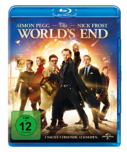 The World's End [Blu-ray] (Hot Funny Filme)