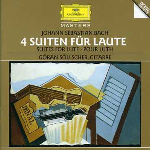 Bach-4 Suites Per Liuto-Sollsc