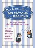 Image de Petit almanach insolite - 365 dictons de nos régions