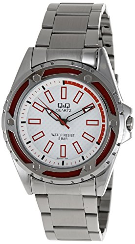 Q&Q Regular Analog White Dial Men's Watch - Q654N211Y image