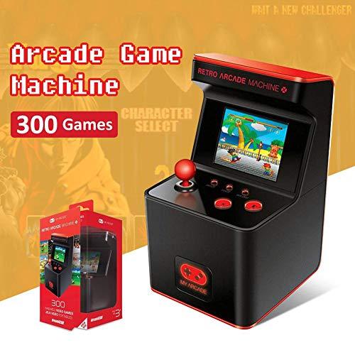 liuxi Mini-Arcade-Spielautomat, 300 Klassische Handheld-Spiele Retro FC Portable Machine für Kinder, 16 Bit