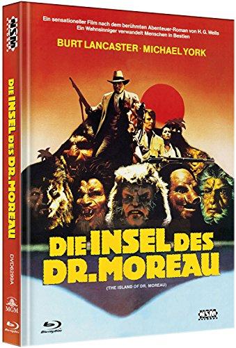 Die Insel des Dr. Moreau [Blu-Ray+DVD] auf 444 limitiertes Mediabook Cover A