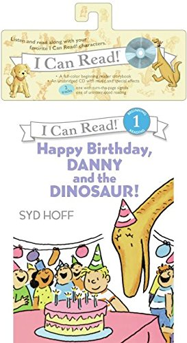 Happy Birthday, Danny and the Dinosaur! Book and CD [With CD (Audio)] (I Can Read!: Beginning Reading 1) por Syd Hoff
