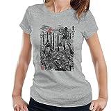 Photo de Cloud City 7 Attack on Titan Flying for Humanity Women's T-Shirt par Cloud City 7
