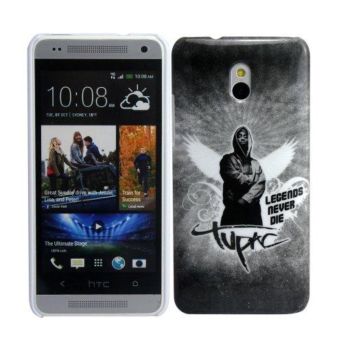 thematys HTC ONE mini m4 TU PAC TUPAC 2 PAC SHAKUR 2PAC hard Design Handy Schutz-Hülle Case Tasche Cover