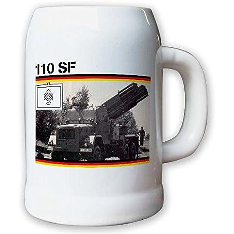 Leggera sistema missilistico ARTIGLIERIA LARS 110 SF più volte missilistico lanciatori armardi BW vita - vaso/boccale da birra 0, 5L #10675