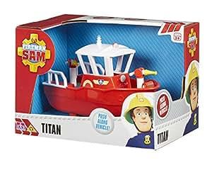 Sam le pompier titan bateau avec lance incendie jeux et jouets - Bateau sam le pompier ...