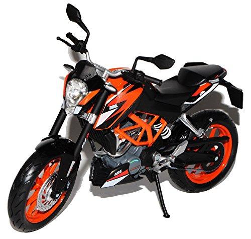 Preisvergleich Produktbild KTM Duke 200 Orange Schwarz Ab 2014 1/12 KTM Modell Motorrad Modell Auto