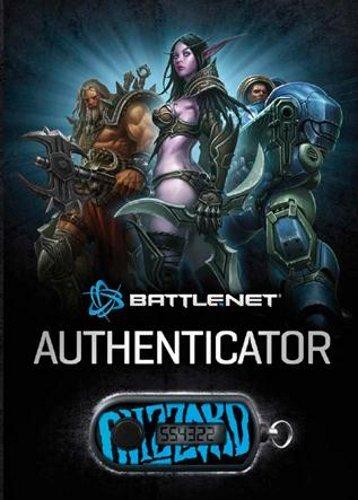 game time card Blizzard Battle.net Authenticator