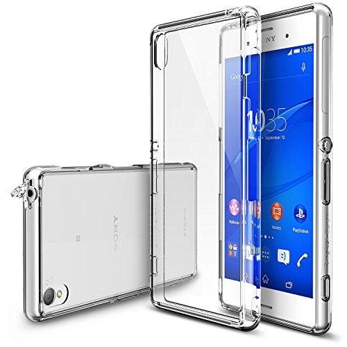 sony-xperia-z3-coque-ringke-fusion-capuchon-anti-poussire-chute-protection-free-hd-filmcrystal-view-