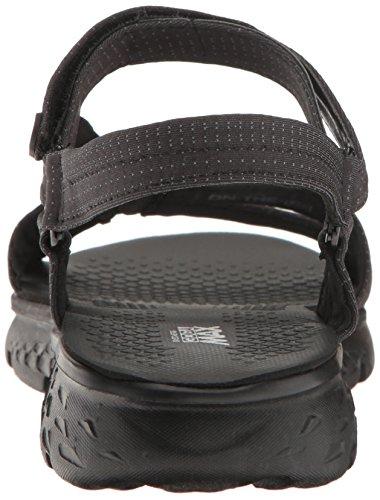 Skechers Go 400-Radiance, Heels Sandals Donna Black