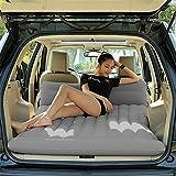 RUIRUI Colchón inflable de coche viaje reuniéndose aire Camping SUV Universal asiento trasero aire largo sofá cama , 2