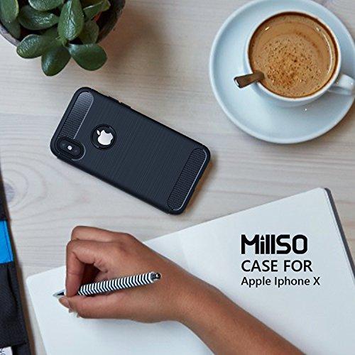 51XKXJuPWpL - [Amazon.de] MillSO iPhone X Schutzhülle für 1,49€ statt 6,99€ *PRIME*