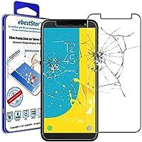 ebestStar - Compatible Verre trempé Samsung J6 2018 Galaxy SM-J600F Film Protection Ecran Vitre Protecteur Anti Casse, Anti-Rayure, Pose sans Bulles [Appareil: 149.3 x 70.2 x 8.2mm, 5.6'']