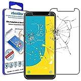 ebestStar [Compatible Verre trempé Samsung Galaxy J6 2018 SM-J600F [149.3 x 70.2 x 8.2mm, 5.6''] Film Protection Ecran Vitre Protecteur Anti Casse, Anti-Rayure, Pose sans Bulles