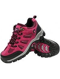 Ben Sports Rosado Botas de senderismo Zapatillas de senderismo Hombre Mujer