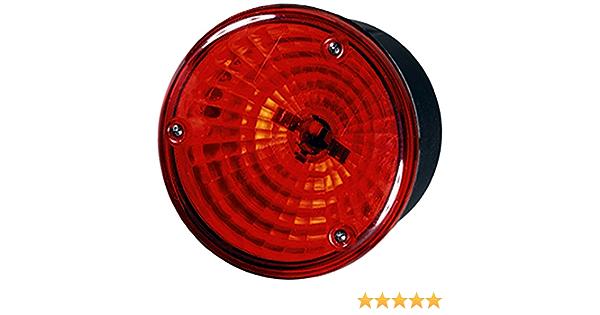 Hella 2sb 964 169 531 Heckleuchte P21 5w 12v 24v Lichtscheibenfarbe Rot Anbau Einbau Einbauort Links Rechts Auto