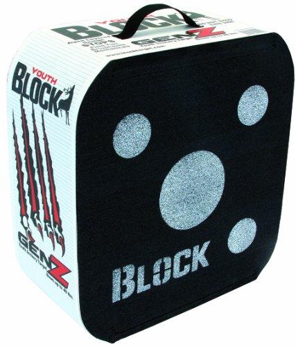 Field Logic 649510Block Genz Youth Bogenschießen Ziel 16hx17wx7.5d. WT: 6,25lbs (Ziel Block-bogenschießen)