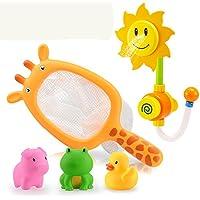 Preisvergleich für Unbekannt FEI Babyspielzeug Floating Farm Animal Themed Gummi Bad Squirt Spielzeug für Baby Frühe Erziehung (Farbe : B)