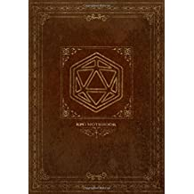 RPG Notebook: Lined and grid pages for Role Playing Games | BROWN COVER | Notes, tracking, mapping, terrain plans for DM Dungeon Master or a GM Game Master