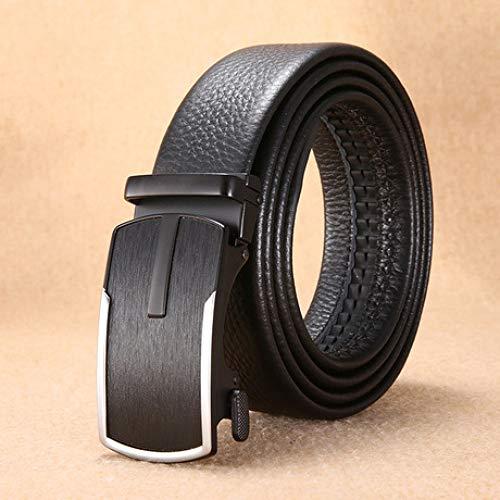 GFLD ledergürtel Ledergürtel Männer Legierung Metallschnalle Business Casual Jeans Gürtel Oberschicht Ledergürtel (Antik Denim Jeans)