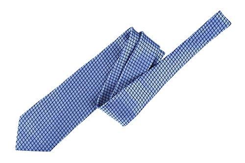Ermenegildo Zegna Krawatte Herren Geometrisch Hellblau Seide