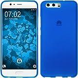 PhoneNatic Case für Huawei Honor 6a Hülle Silikon blau matt Cover Honor 6a Tasche Case