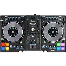 Hercules - DJCONTROL JOGVISION - Controlador DJ  - PC / Mac -  Jog wheels con indicadores de led, perfecto para Scratch, Air control