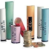 Olympia 3701 - Rollos de papel para monedas, de 0,01 a 2,00 Euro B, paquete...