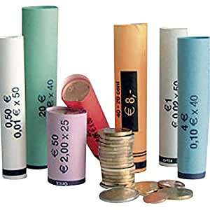 Set de 80 rouleaux de papiers pour pièces
