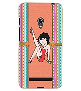PrintDhaba Funny Image D-4023 Back Case Cover for ASUS ZENFONE 5 A501CG (Multi-Coloured)