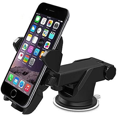 Soporte de coche, de purga de aire magnético Universal soporte de coche soporte para 3,5pulgadas a 6,5pulgadas Smartphones incluyendo iPhone 7, 6, 6S, Galaxy S7,